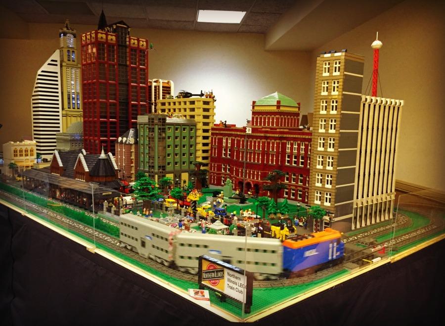 Abbey Resort LEGO Exhibit Skyscrapers