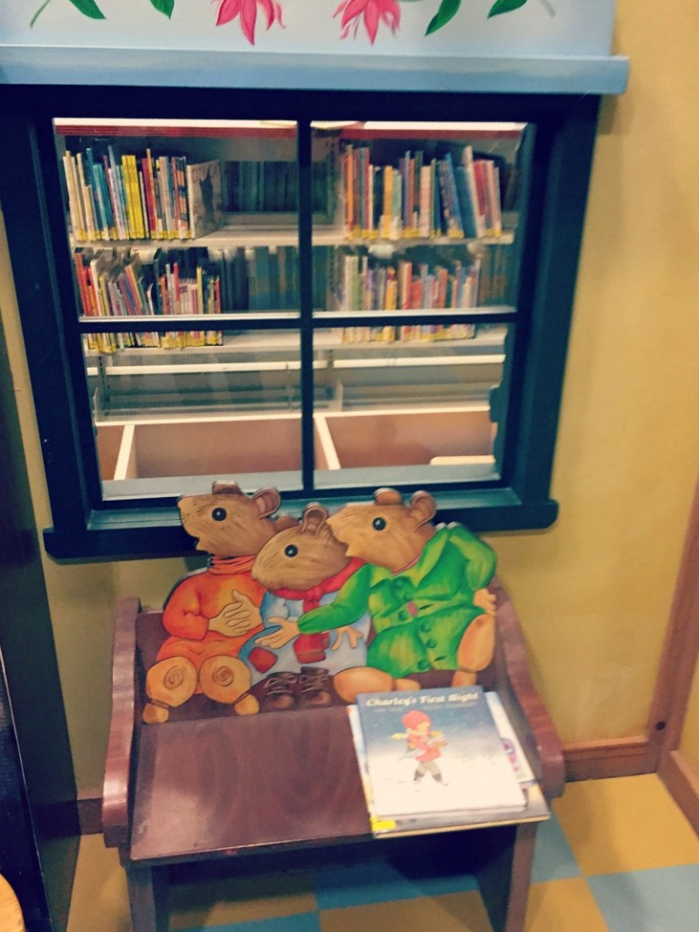 Schaumburg Library Reading Nook