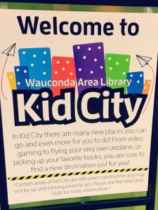 Wauconda Area Library Sign