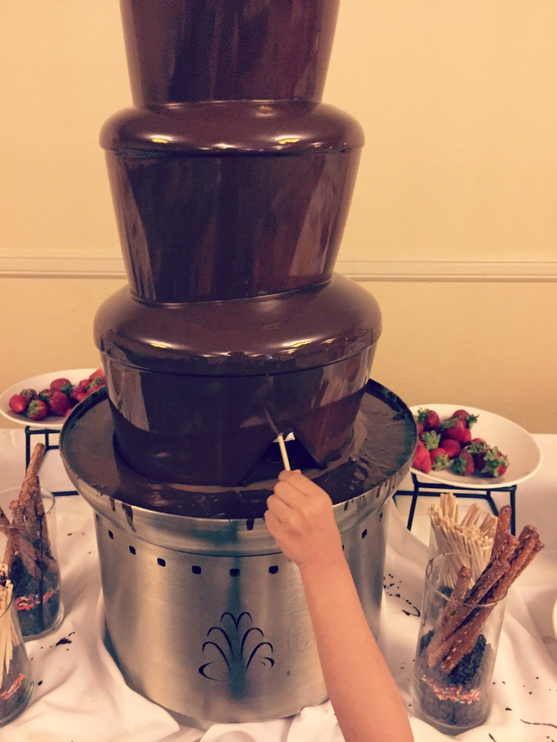 Abbey Resort Wisconsin 240 West Chocolate Fountain