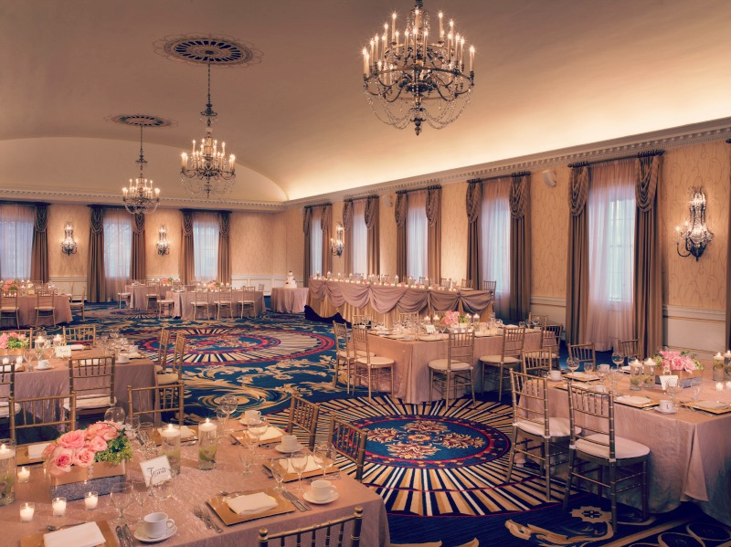 Alexandria Ballroom at The Dearborn Inn