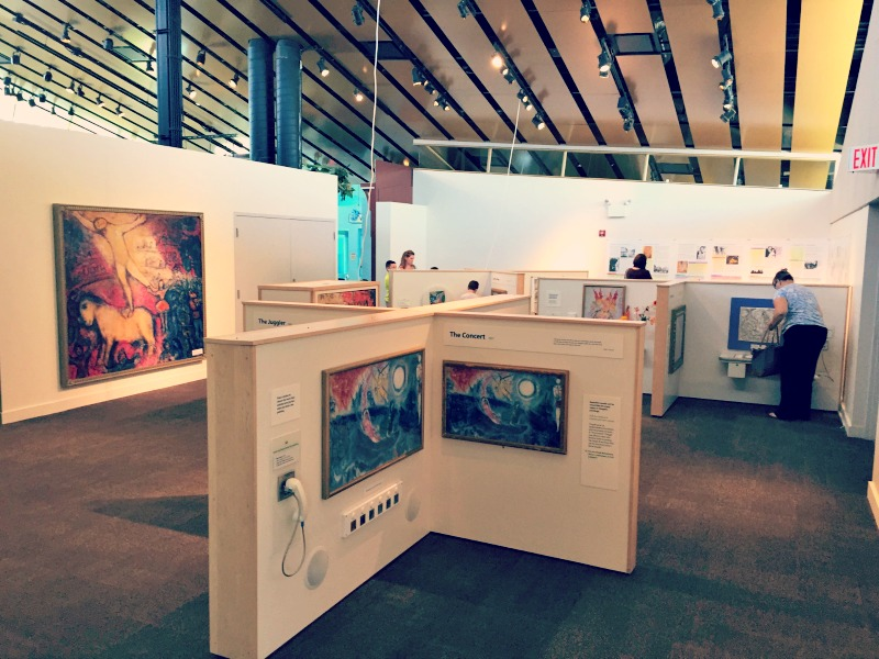 Kids Exhibition Booth : Review new chagall exhibit at kohl children s museum