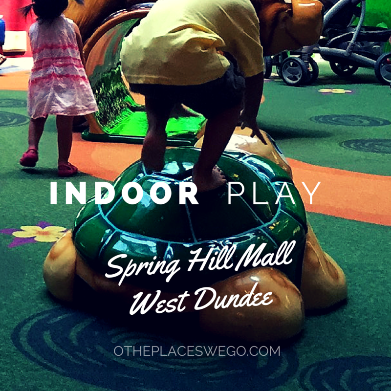 Spring Hill Mall West Dundee Indoor Play Area Review