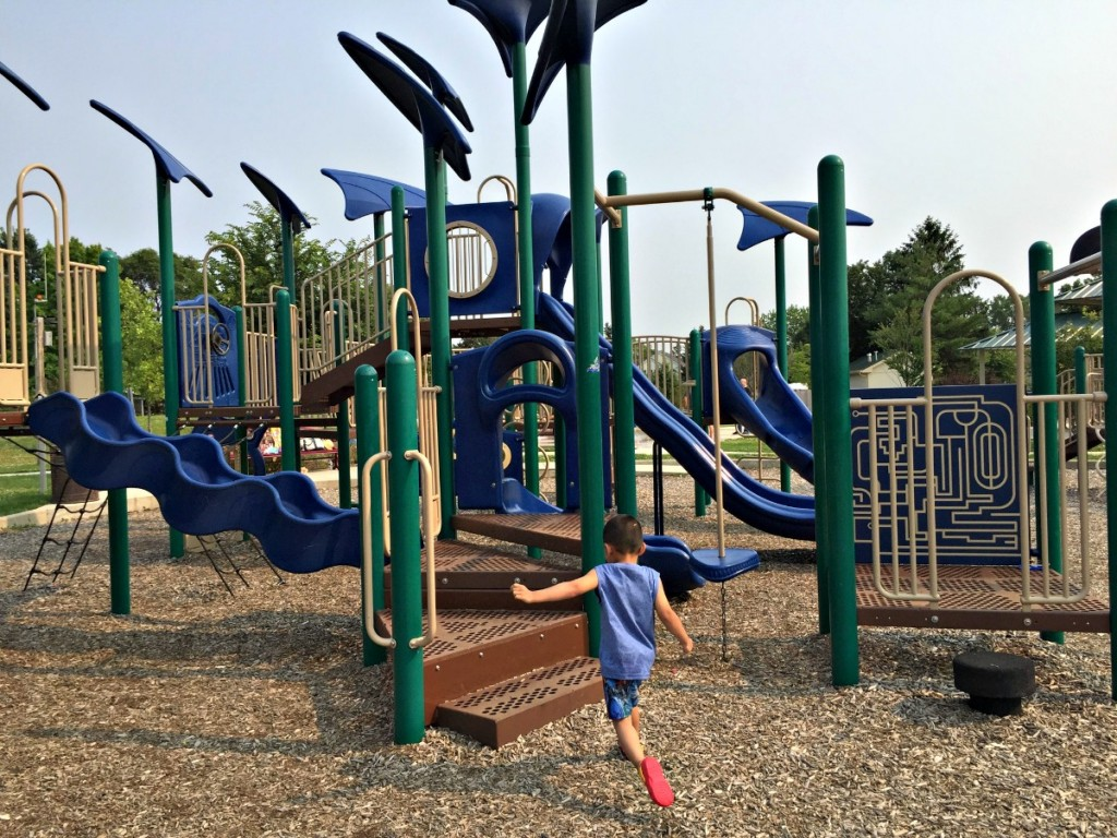 Fountain Square Park Elk Grove Village Playground