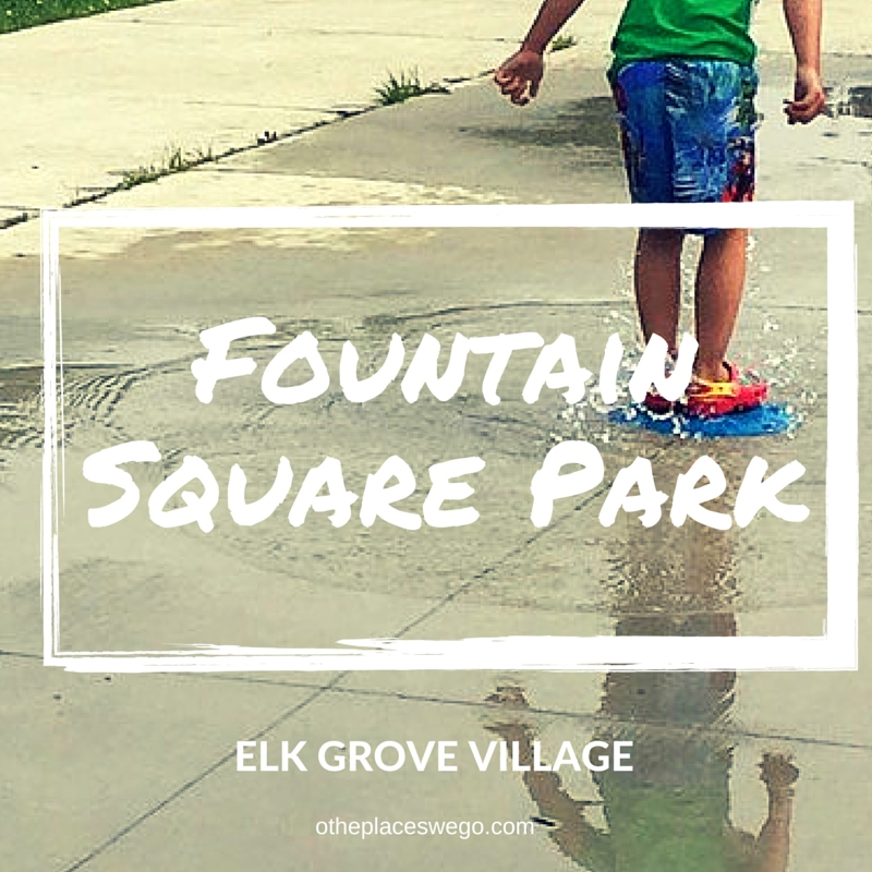 Fountain Square Park Elk Grove Village SplashPad and Playground