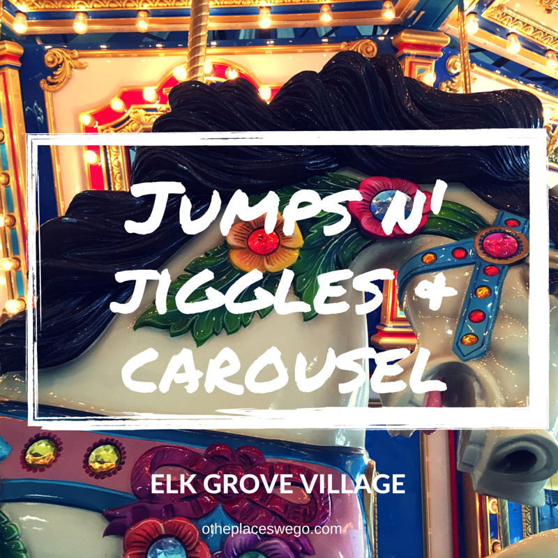 Indoor Fun at Jumps n Jiggles Paviliion Carousel Elk Grove Village