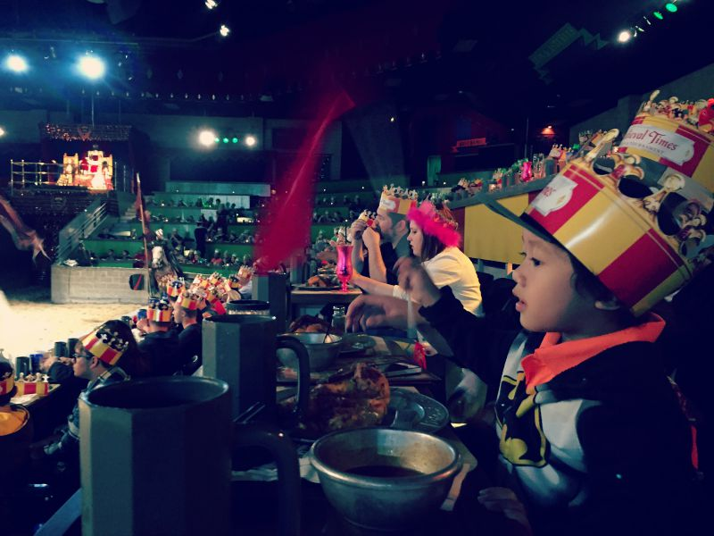 Medieval Times Chicago Schaumburg Cheering
