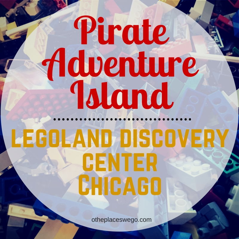 Pirate Adventure Island at Legoland Discovery Center Chicago in Schaumburg