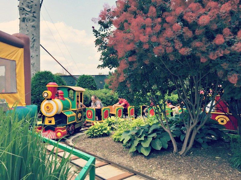 Pirates Cove Elk Grove Village Amusement Park Train
