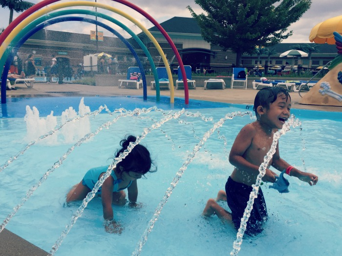 Family Fun Review Rainbow Falls Waterpark In Elk Grove Village O The Places We Go
